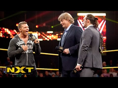 William Regal is announced as NXT