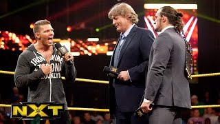 William Regal is announced as NXT's new General Manager: WWE NXT, Aug. 28, 2014