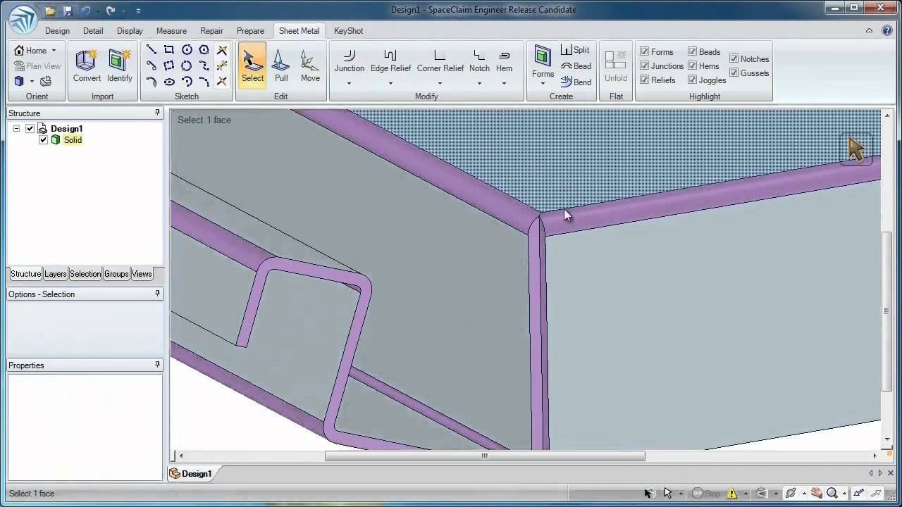 Top ten reasons to use spaceclaim 3d cad software youtube Free 3d cad software