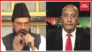 Maulana Ansar Raza Slams Pak Defence Analyst Tariq Pirzada For Insulting Kulbhushan Jadhav's Kin