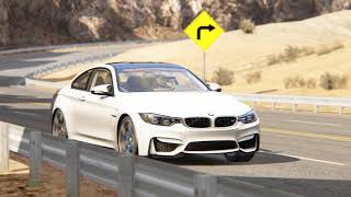 BMW M4 Testing in Black Cat Country.