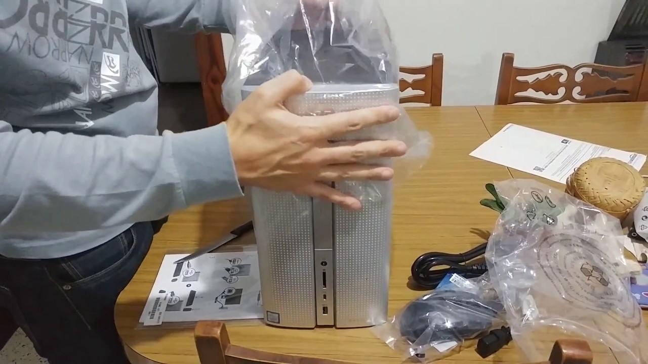 Unboxing HP Pavilion 570 p052ns