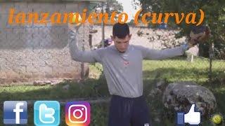 lanzamiento de softball (curva) fastpitch