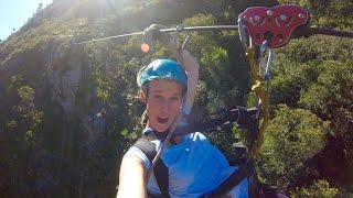 Things in Cape Town #1 - Scary Zip Lining
