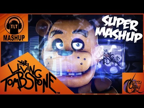 FNAF 1 2 3 & 4 SUPER MASHUP ORIGINAL MUSIC  TLT