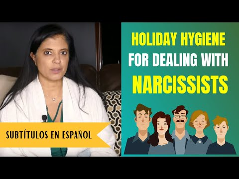 Holiday hygiene for dealing with narcissistic family members