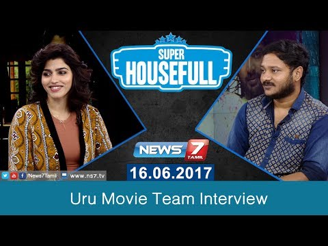 Uru Movie Team Interview | Dhanshika | Kalaiarasan | Vicky Anand