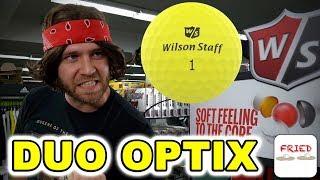 The Golf Shop: Wilson Duo Optix