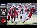 North Carolina State vs. Louisville Full Game | 2018 ACC Football