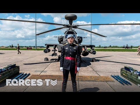 Prince Harry's Army Air Corps Comrades Prepare For Royal Wedding | Forces TV