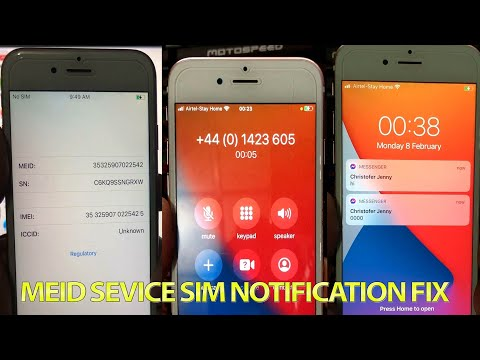 {Windows} MEID ICloud Bypass \u0026 Successful SIM Fix.iOS 12.5-14.4 Any Apple IPhone