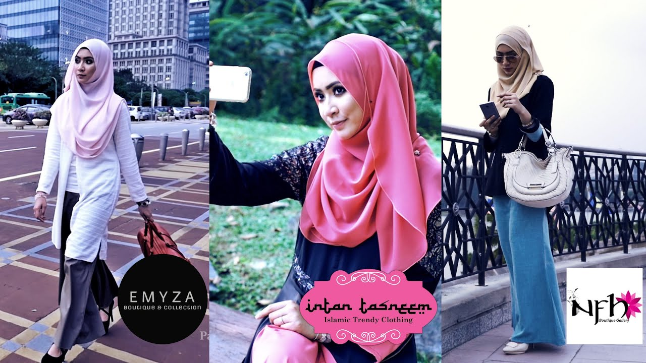Muslimah Trending Fashion In Malaysia Youtube