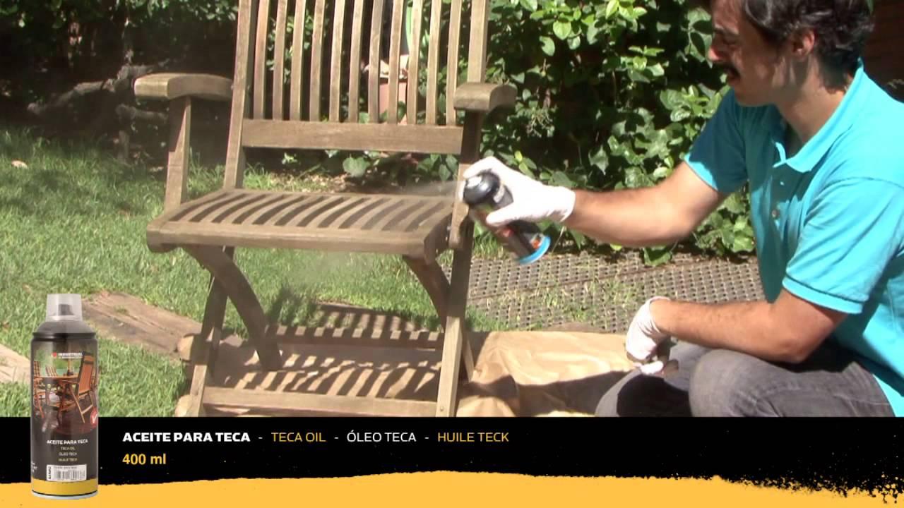 Tutorial - Cómo proteger mobiliario de teca y qué productos usar ...