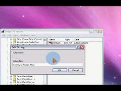 Add a Command Prompt Shortcut to the Right Click Menu