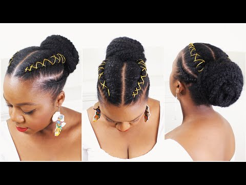 Cornrows Natural Hair Protective Hairstyle Quick Summer Protective Hairstyle Youtube