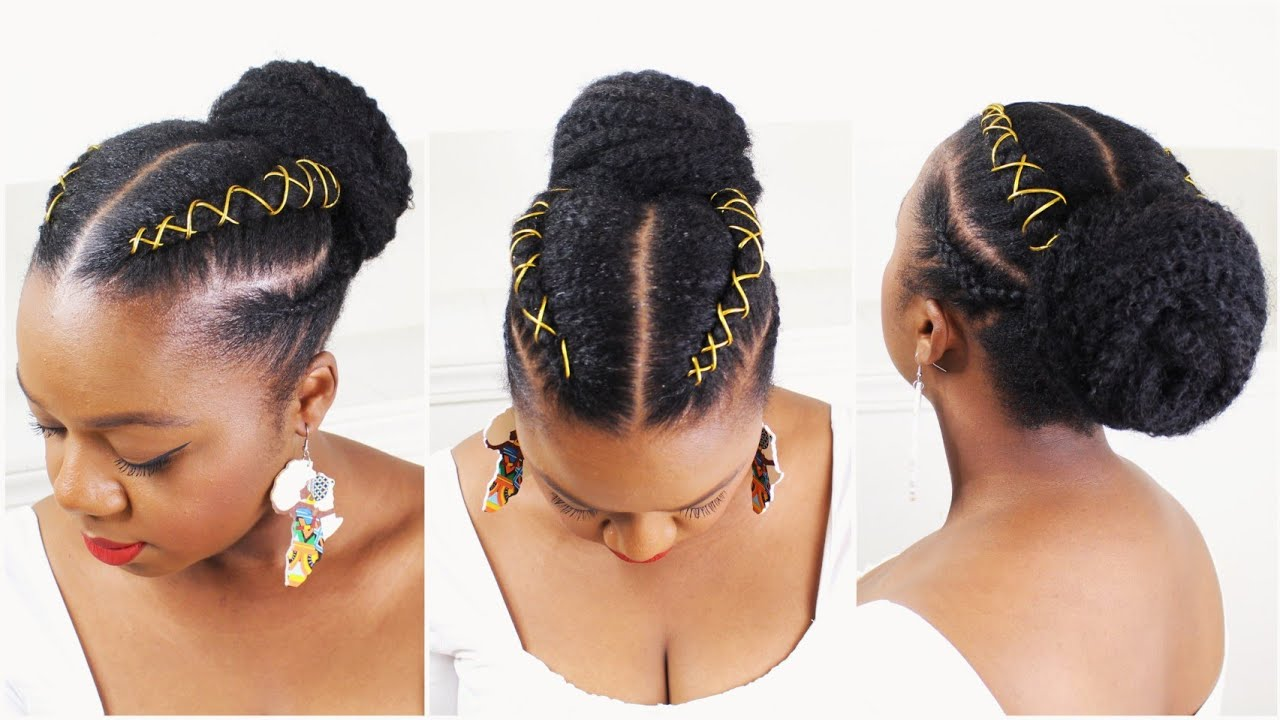Easy Natural Hairstyles For Black Women 2020 Protective Styles Youtube