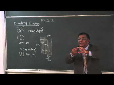 XII-13-2 Nuclear energy and mass defect(2015) Pradeep Kshetrapal Physics