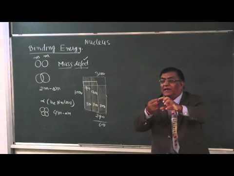 XII-13-2 Nuclear energy and mass defect(2015) Pradeep Kshetrapal Physics
