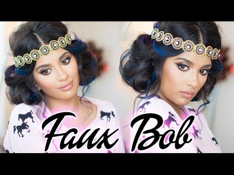 Gatsby Inspired Faux Bob - Hair Tutorial thumbnail