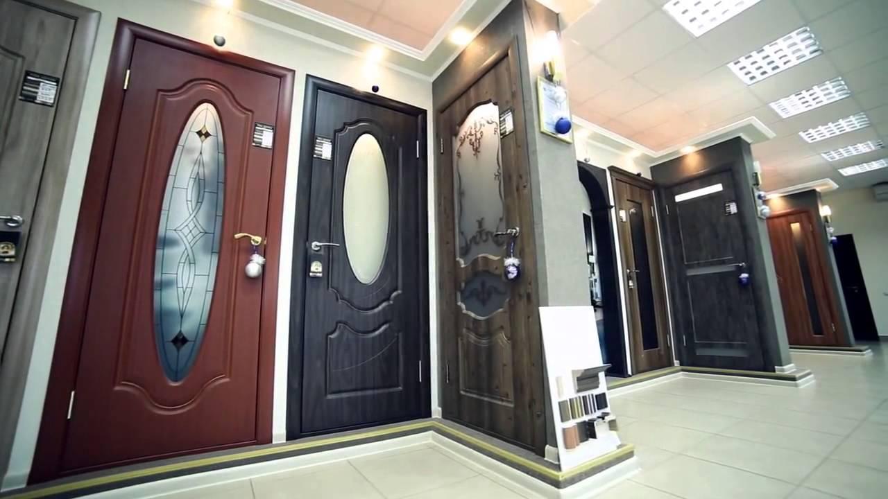 Межкомнатные двери фабрики Геона - YouTube
