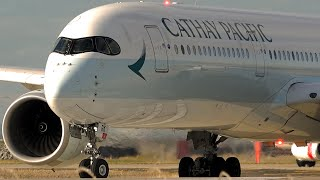 AFTERNOON RICHES | Golden Light Departures | A350 B787 A330 | Melbourne Airport Plane Spotting