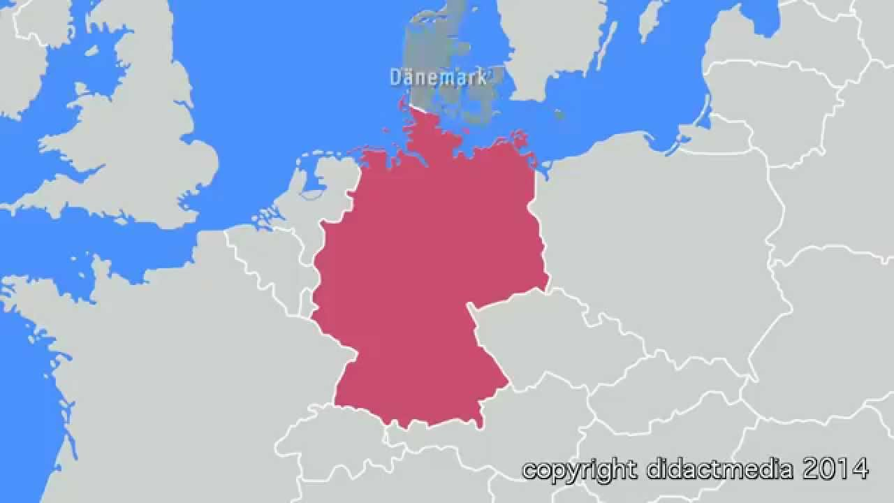 Deutschland Im Uberblick Nachbarstaaten Youtube
