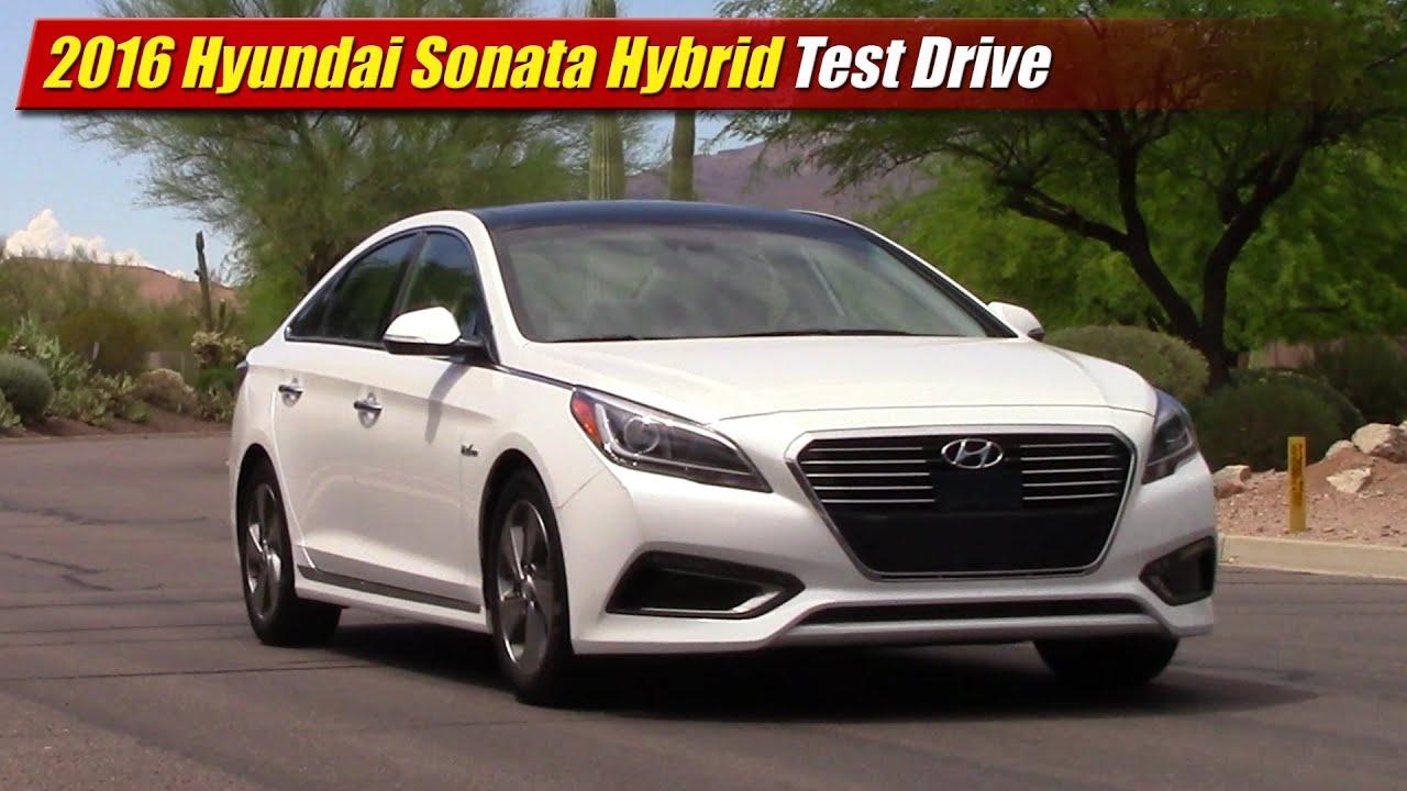 2016 Hyundai Sonata Hybrid Test Drive   YouTube