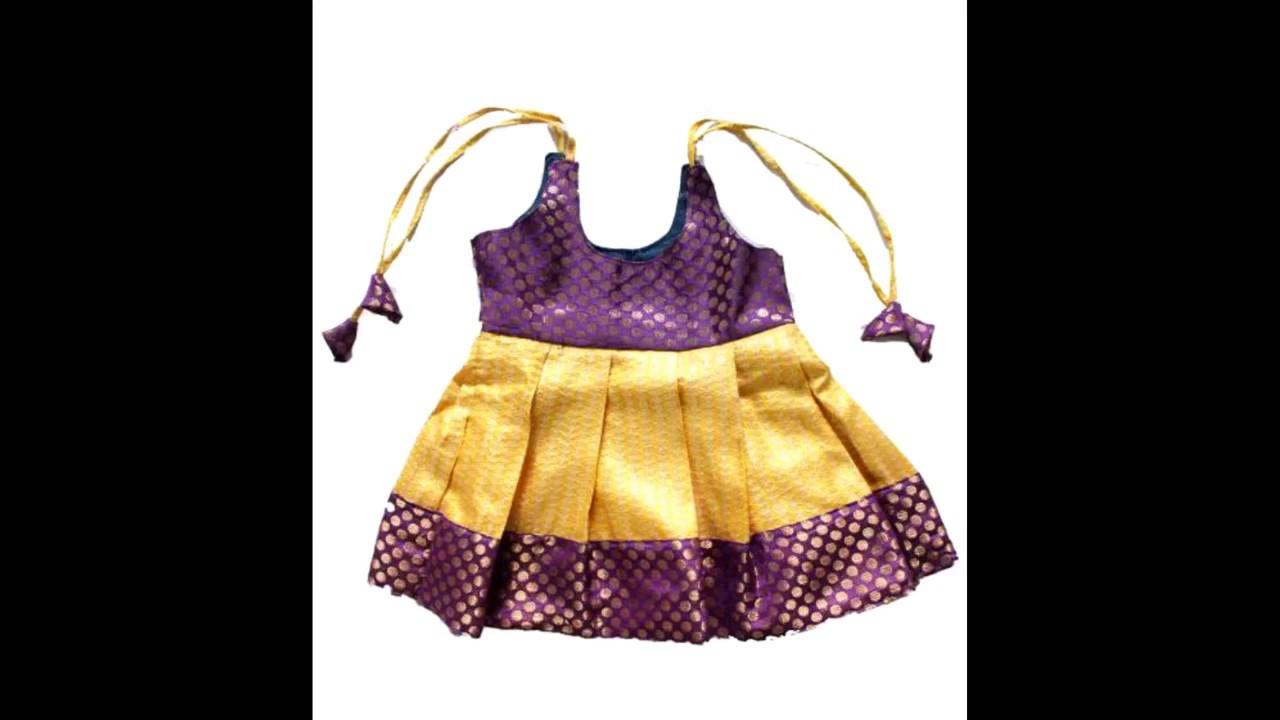 664717150 Kids Traditional Pattu Pavadai - YouTube