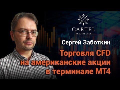 Торговля CFD на американские акции в терминале МТ4 от Gerchik&Co. Заботкин Сергей