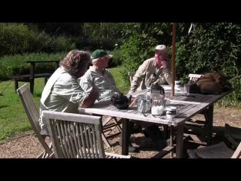 Gavin Hurley Fly Fishes Southern England's Upper Test Chalk Streams...