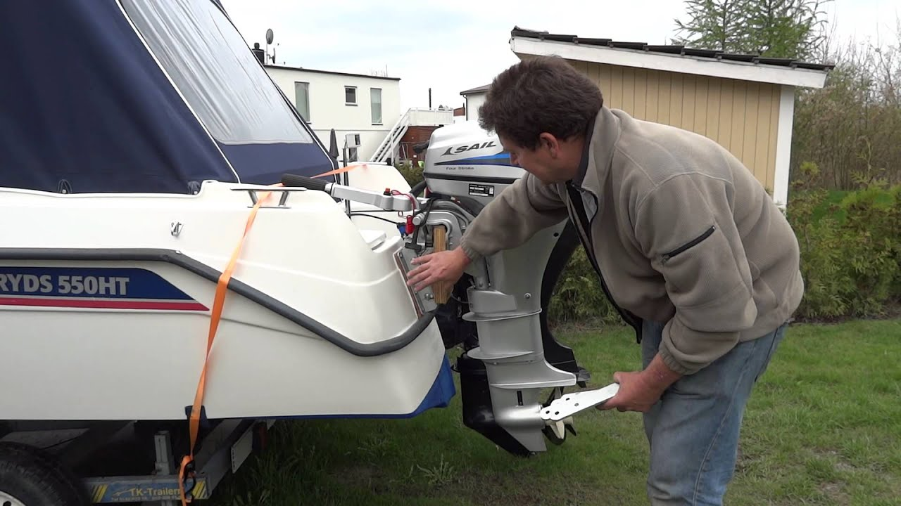 Outboard Bracket Convertion Good Tip Youtube