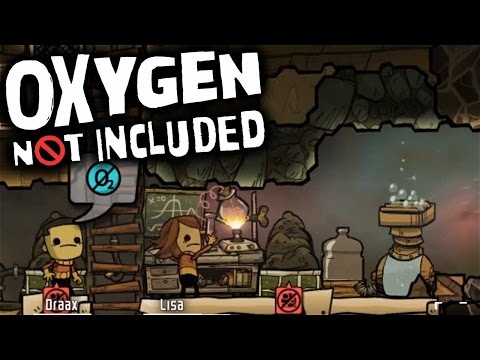 Oxygen Not Included - Electrolyzer FTW! (Let's Play Oxygen Not Included Ep 8)