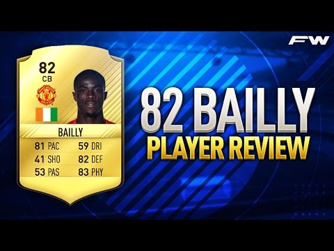 FIFA 17 BAILLY Review (82) W/ In Game Stats & Gameplay