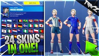 THIS IS THE BEST SKIN TO BUY! 32+ CUSTOMIZATION OPTIONS! (Fortnite Battle Royale World Cup Skins)