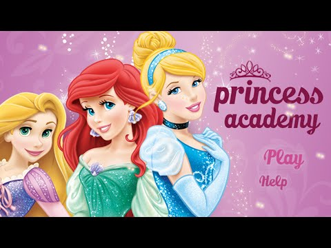 Disney Princess Academy - Belle Dress Up & Aurora Treasure Hunt (Game for Kids)