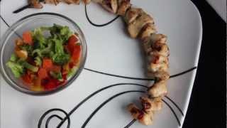 Rosemary Chicken Kabobs  3 Minute Kitchen