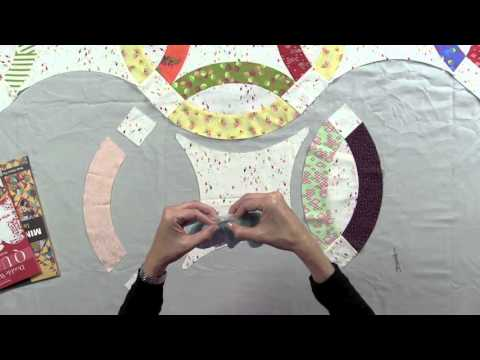 Double Wedding Ring Quilts: Tips for the Curves