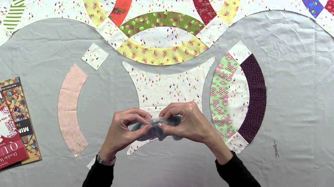 Double Wedding Ring Quilts Tips For The Curves Youtube