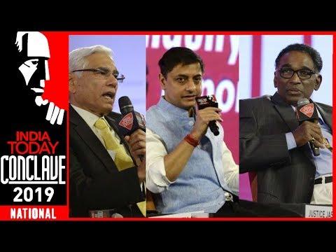 Institutions Under Assault?:Justice Chelameswar, Vinod Rai & Sanjeev Sanyal At IT Conclave 2019