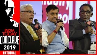 Institutions Under Assault?:Justice Chelameswar, Vinod Rai & Sanjeev Sanyal At IT Conclave 2019