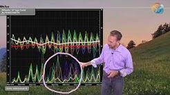 Wetterprognose: Kühle im Norden, kurze Hitze im Süden, ab und zu Schauer & Gewitter. Normalo-Juli