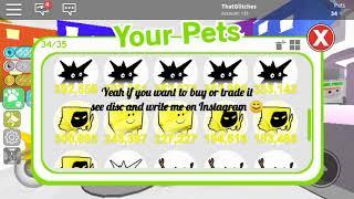 ❤️ Roblox Pet Simulator Selling Pets ❤️ Roblox Sellers #TPG