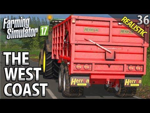 THE FINAL HARVEST BEGINS | Farming Simulator 17 | The West Coast | Episode 36