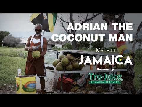 Made In Jamaica Ep1: Adrian the Jamaican Coconut Man, Chopping his way to a better life.