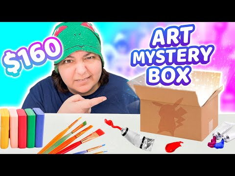 Excuse me?! Mystery Box From Popular Art Craft Store