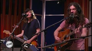 "Courtney Barnett and Kurt Vile performing ""Blue Cheese"" Live on KCRW"