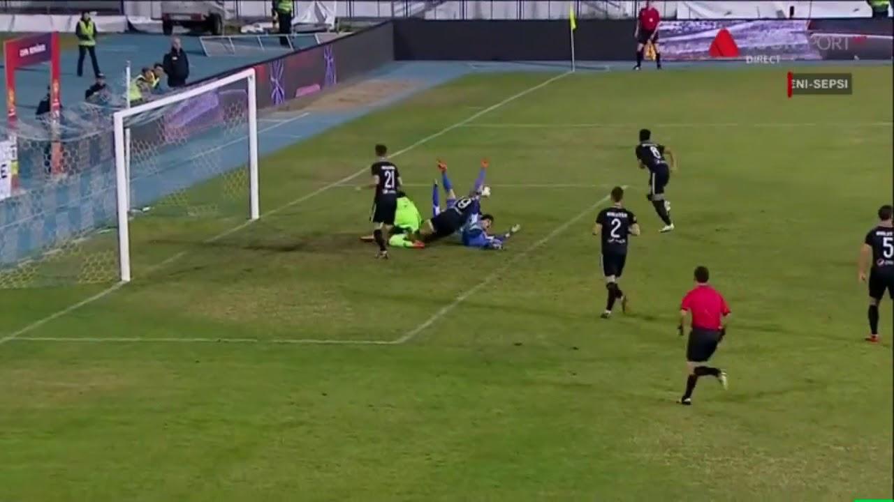 Poli Iasi - Viitorul: Andrei Cristea eliminat ('73) !  - Cupa Romaniei Optimi
