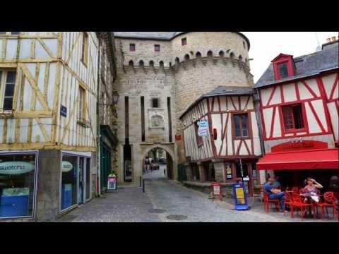 Vannes, Morbihan - France (HD1080p)
