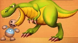 Kick The Buddy - Gameplay Walkthrough Part 51 - New Jurassic Dinosaurs T- REX vs Kick the Buddy
