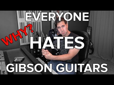 Why Does Everyone Hate Gibson Guitars? (What Happens When Gibson Shows off Damaged Guitars)